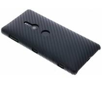 Carbon Look Hardcase-Hülle Schwarz für Sony Xperia XZ2