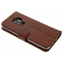 Valenta Braunes Booklet Classic Luxe für das Samsung Galaxy S9 Plus
