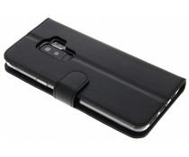 Valenta Schwarzes Booklet Classic Luxe für Samsung Galaxy S9 Plus