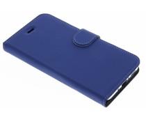Accezz Blaues Wallet TPU Booklet für das HTC U11