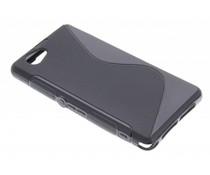 Schwarze S-Line TPU Hülle für Sony Xperia Z1 Compact