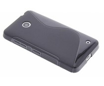 Schwarze S-Line TPU Hülle für Nokia Lumia 630 / 635