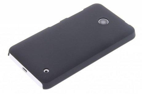 Schwarze unifarbene Hardcase-Hülle für Nokia Lumia 630 / 635