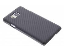 Carbon Look Hardcase-Hülle für Samsung Galaxy Alpha