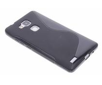Schwarze S-Line TPU Hülle für Huawei Ascend Mate 7