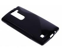 Schwarze S-Line TPU Hülle für LG Magna / G4c