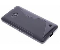 Schwarze S-Line TPU Hülle für Microsoft Lumia 640