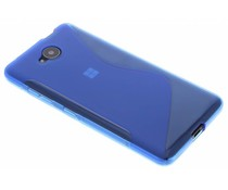 Blaue S-Line TPU Hülle für Microsoft Lumia 650