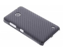 Carbon Look Hardcase-Hülle für Nokia Lumia 630 / 635
