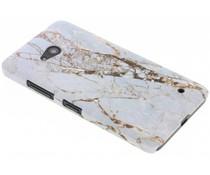 Weißes Marmor Design Hardcase für Microsoft Lumia 640