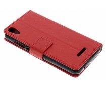 Roter TPU Bookcase Wiko Lenny 4