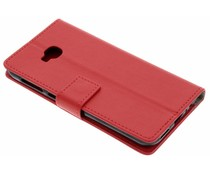 Roter TPU Bookcase Asus ZenFone 4 Selfie Pro