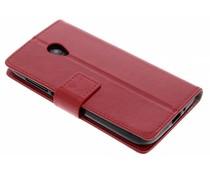 Roter TPU Bookcase Alcatel U5 HD
