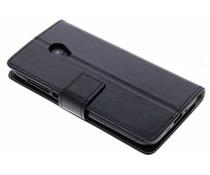 Schwarzer TPU Bookcase Alcatel U5 HD