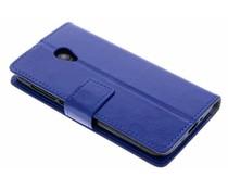 Blauer TPU Bookcase Alcatel U5 HD