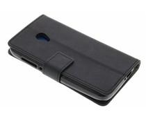 Schwarzer TPU Bookcase Alcatel U5 4G