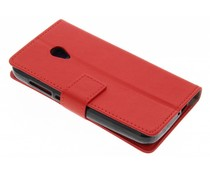 Roter TPU Bookcase Alcatel U5 4G