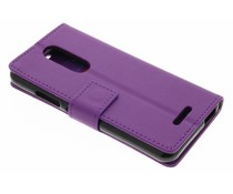 Violetter TPU Bookcase Wiko Upulse Lite