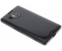 Schwarzes Gel Case Microsoft Lumia 950 XL