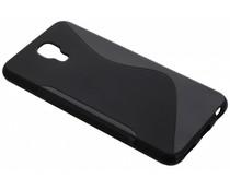 Schwarze S-Line TPU Hülle für LG X Screen