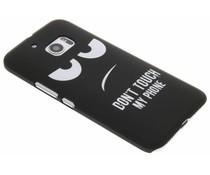 Don't Touch Design Hardcase Hülle für HTC 10
