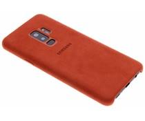 Samsung Rot Alcantara Cover für das Galaxy S9 Plus