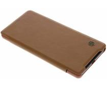 Nillkin Qin Leather Slim Booktype Hülle Braun für das Xperia XZ2