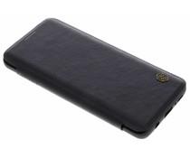Nillkin Qin Leather Slim Booktype Hülle Schwarz für das Samsung Galaxy S9