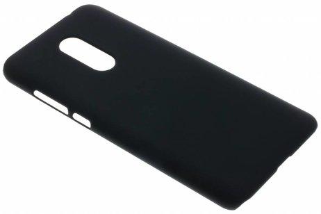 Xiaomi Redmi 5 Plus hülle - Schwarze Unifarbene Hardcase-Hülle für