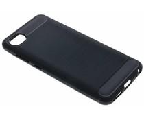 Schwarzer Brushed TPU Case für das HTC Desire 12