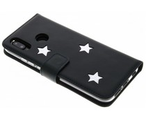 Fabienne Chapot Reversed Star Booktype Handyhülle Silber Huawei P20 Lite