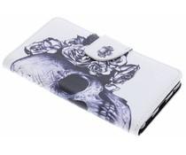 Design TPU Booktype Hülle für Nokia 6.1