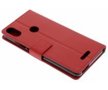 Rotes TPU Bookcase für das Wiko View Max