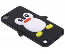 Pinguin-Silikonhülle in Schwarz-Grün iPod Touch 5g / 6