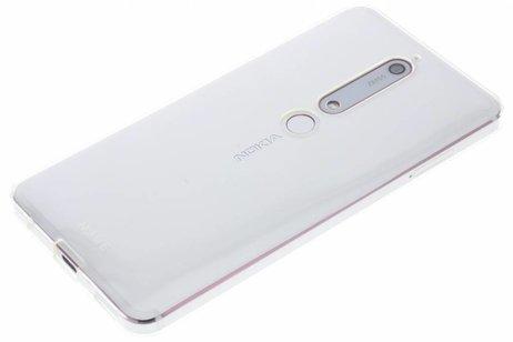 more photos c4849 7335e Nokia Transparentes Slim Crystal Case für das Nokia 6.1