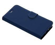 Accezz Blaues Wallet TPU Booklet für das General Mobile GM8