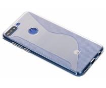S-Line TPU Hülle Transparant für Huawei Y7 (2018)
