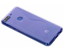 S-Line TPU Hülle Violett für Huawei Y7 (2018)