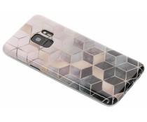 Marmorierte Silikon-Hülle Samsung Galaxy S9