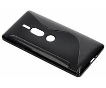 S-Line TPU Hülle Schwarz für Sony Xperia XZ2 Premium