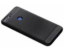 Brushed TPU Case Schwarz für das Huawei Y7 (2018)