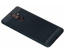 Brushed TPU Case Dunkelblau für das Nokia 7 Plus