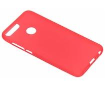 Color TPU Hülle Rot für das Honor 9 Lite