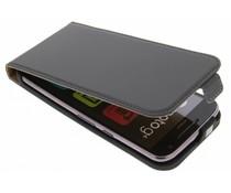Selencia Luxus Flipcase Dunkelgrau für Motorola Moto G4 (Plus)