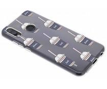Sommer-Design Silikonhülle für das Huawei P20 Lite
