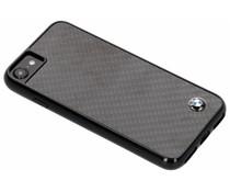 BMW Real Carbon Fiber Hard Case Schwarz iPhone 8 / 7 / 6s / 6