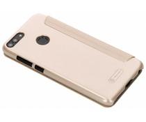 Nillkin Goldfarbenes Sparkle Series Leder Case für Huawei P Smart