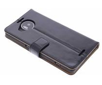 Selencia Luxus Leder Booktype Hülle für Microsoft Lumia 950 XL