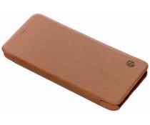 Nillkin Qin Leather Slim Booktype Hülle Galaxy A6 Plus (2018)