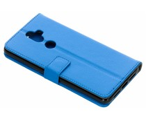 TPU Bookcase Blau für Alcatel 3V